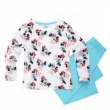 Pijamale Disney Minnie Mouse maneca lunga