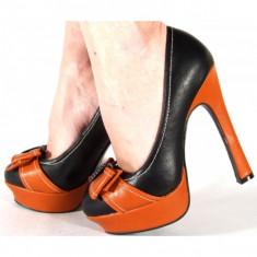 Pantofi eleganti cu toc (Model: A10)