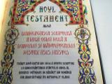 Cumpara ieftin NOUL TESTAMENT TIPARIT DUPA EDITIA DIN 1914 A SFINTEI SCRIPTURI
