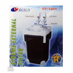 Filtru extern acvariu, UV 11 W, EF1200U, 24x24x40,5 cm, Resun