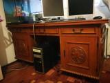 Birou central din lemn ( antic )