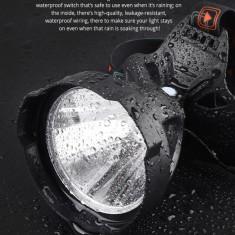 Lanterna cu LED pentru cap acumulator 18650