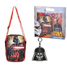 Set cadou geanta de umar si breloc Star Wars - Coriex