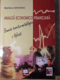 ANALIZA ECONOMICO-FINANCIARA. ELEMENTE TEORETICO-METODOLOGICE SI APLICATII - MAR