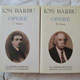 ION BARBU-OPERE VOL.1 SI 2, EDITURA ACADEMIEI