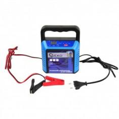 Redresor automat Geko G80018, 6/12V, capacitate 5-200Ah