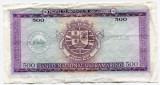 Bancnota Mozambic 500 escudos 1967, VF
