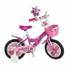 """Bicicleta Copii Umit Actress , Culoare Roz, Roata 14"""", Cadru OtelPB Cod:1464000000"""