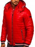 Cumpara ieftin Geacă roșie matlasată Bolf 6191