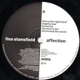 Lisa Stansfield - Affection (1989, Arista) Disc vinil LP original