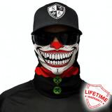 Bandana/Face Shield/Cagula/Esarfa - Clown, made in USA, Din imagine