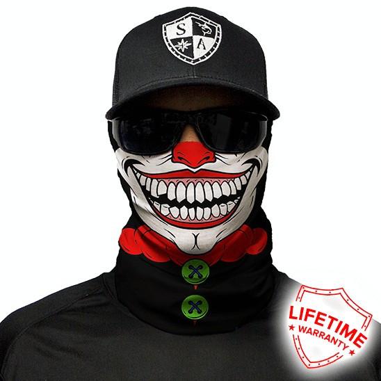 Bandana/Face Shield/Cagula/Esarfa - Clown, made in USA