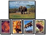 Sao Tome e Principe 1996 Animals, MNH AG.022
