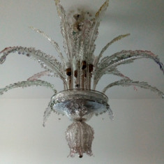 Candelabru sticla MURANO