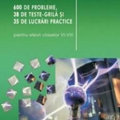 Fizica. 600 de probleme, 38 teste grila si 35 de lucrari practice/Dumitru Bacrau