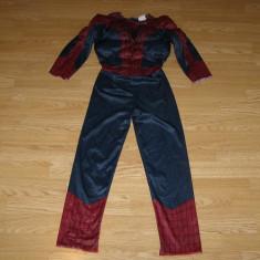 Costum carnaval serbare spiderman pentru copii de 6-7 ani, Din imagine