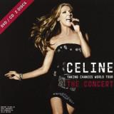 Celine Dion Taking Changes World Tour cd case (cd+dvd)