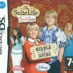 Joc Nintendo DS Disney The suite life of Zack and Cody - Circle of spies