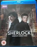 Sherlock (Complete Series Three) (2 X BluRay), BLU RAY, Engleza