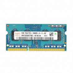 Memorie RAM laptop 2Gb DDR3 1333Mhz PC3-10600 compatibila 2Gb 1066Mhz Pc3-8500