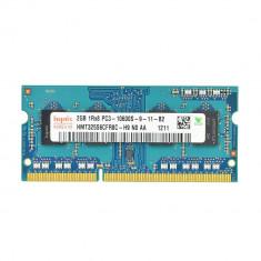 Memorie RAM laptop 2Gb DDR3 1333Mhz PC3-10600 compatibila 2Gb 1066Mhz Pc3-8500