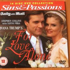 FOR LOVE ALONE  ( IVANA TRUMP 's ) - 1994 - ECRANIZARE FILM DVD ORIGINAL