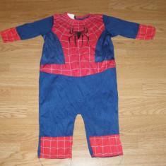 Costum carnaval serbare spiderman pentru copii de 9-12 luni 1 ani, Din imagine