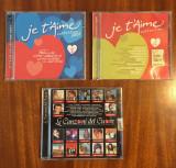 Lot 3 CD-uri originale de muzică de dragoste (30 lei toate) - Stare impecabilă!