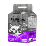 Absorbant Plus Charcoal Pet Sheet, 35 x 45 cm, 100 bucati