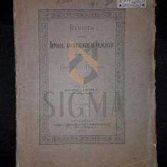 TOCILESCU G. GREGORIU - REVISTA PENTRU ISTORIE, ARHEOLOGIE SI FILOLOGIE (ANUL II, VOLUMUL I, FASCICUL I, 1884)