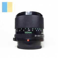 Obiectiv Canon Lens FD 100mm f/2.8 montura Canon FD