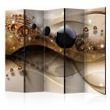 Paravan din 5 parti - Bijuterie a expresiei II - 225 x 172 cm, Artgeist