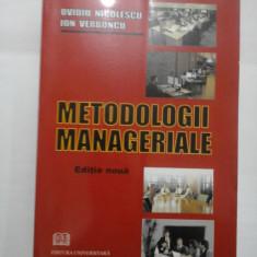 METODOLOGII MANAGERIALE - OVIDIU NICOLESCU * ION VERBONCU