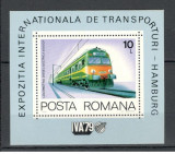 Romania.1979 Expozitia internationala de transporturi-colita  HR.383