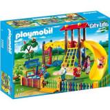 Set constructii cu figurine Playmobil - Loc de joaca pentru copii