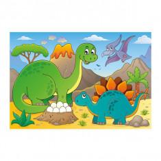 Puzzle, Dinozauri prietenosi, 48 piese