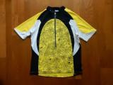 Tricou ciclism Balance; marime M: 54.5 cm bust, 67 cm lungime; impecabil, ca nou