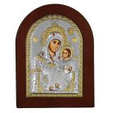 Cumpara ieftin Icoana Argint Maica Domnului de la Bethleem 10x14cm COD: 781
