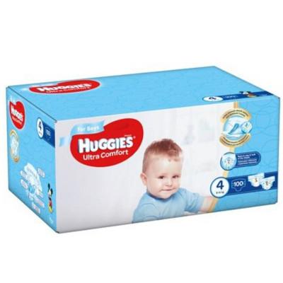 Scutece Huggies Ultra Comfort Nr.4, Baietei, 8-14 kg, 100 buc foto