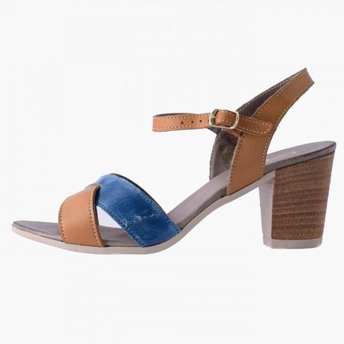 Sandale dama, din piele naturala, marca Gatta, 4420321-8, galben , marime: 39