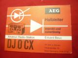 Ilustrata de Radioamator - Aparat de Emisie RFG  1969