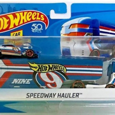 Jucarie Hot Wheels City Rig Speedway Hauler, Mattel