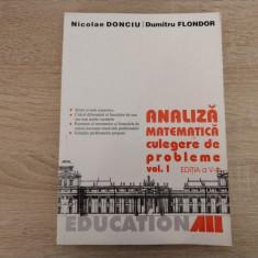 D. Flondor, N. Donciu - Analiza matematica - culegere de probleme  (volumul 1)