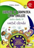 Exercitii de gramatica limbii engleze. Caiet pentru clasele I-IV/Cristina Johnson, Aramis