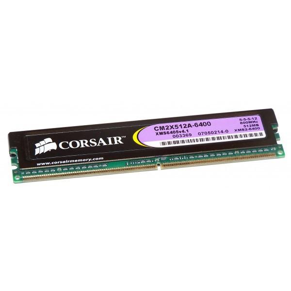 Memorie desktop DDR2 Corsair CM2X512A 512 MB 800 Mhz