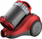 Aspirator fara sac Daewoo RCC-120R/2A, 800 W, 2 l, Filtru HEPA (Rosu)