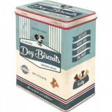 Cutie de depozitare metalica - Dog Bisquits