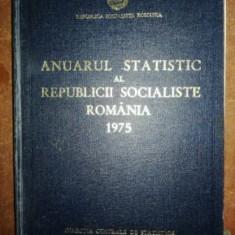 Anuarul statistic al Republicii Socialiste Romania 1975