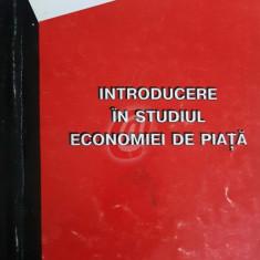 Introducere in studiul de piata al economiei