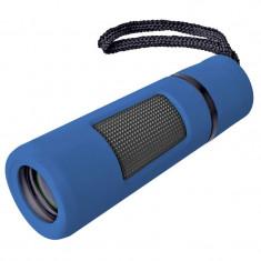 Monocular Bresser Topas 10x25, material sticla BK-7, Albastru